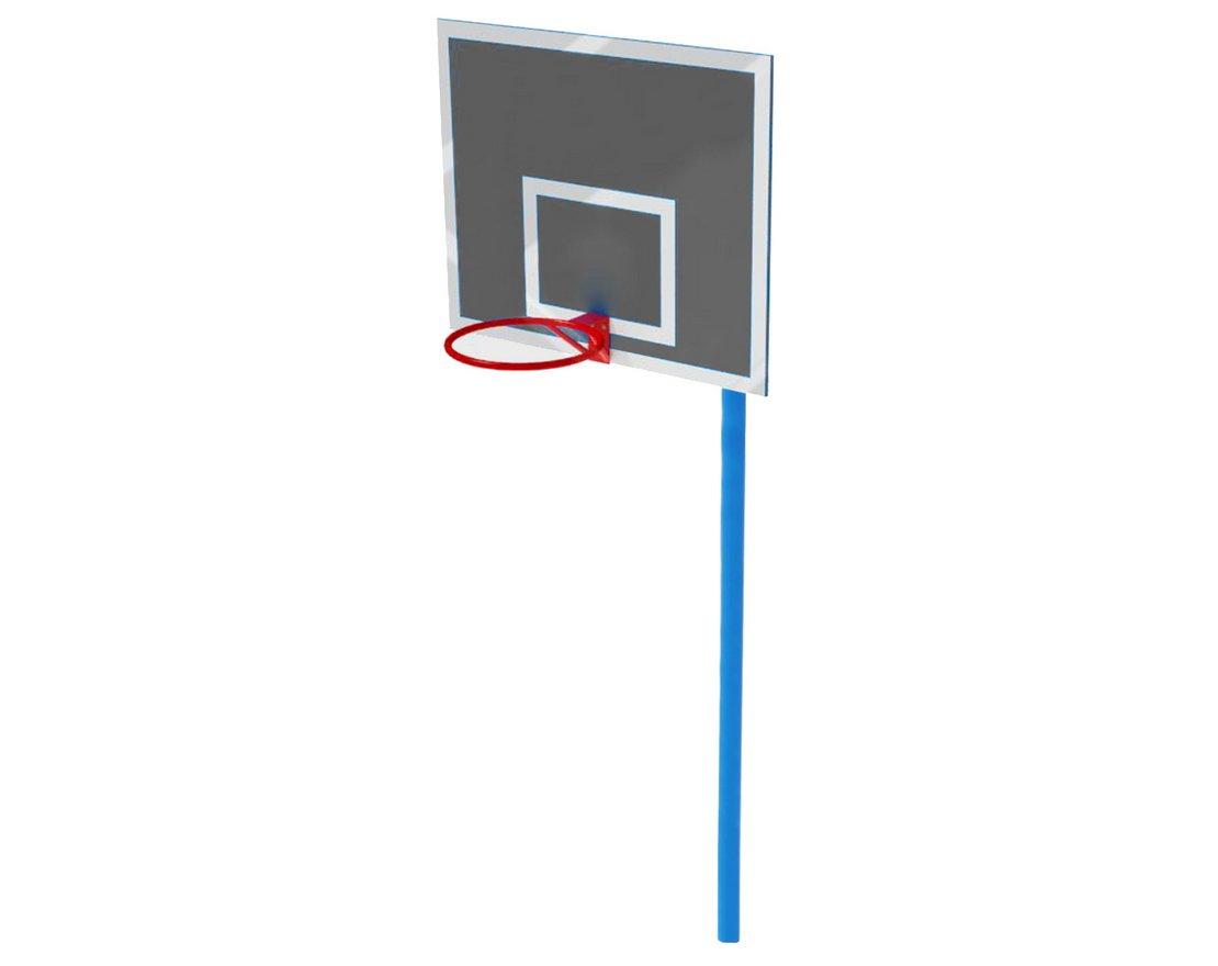 69f007f2 Баскетбольный щит со стойкой. Купить в интернет-магазине «Шведские стенки»  в Екатеринбурге